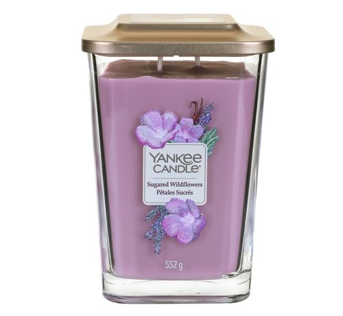 Yankee Candle Sugared Wildflowers - Large Vessel