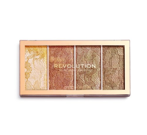 Makeup Revolution Vintage Lace  - Highlighter Palette