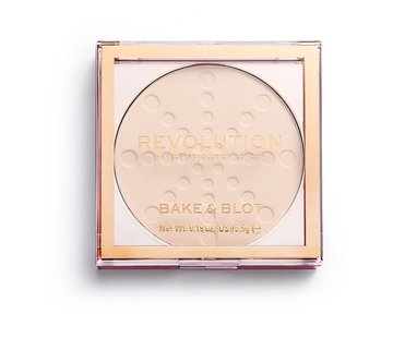 Makeup Revolution Bake & Blot Powder - Translucent