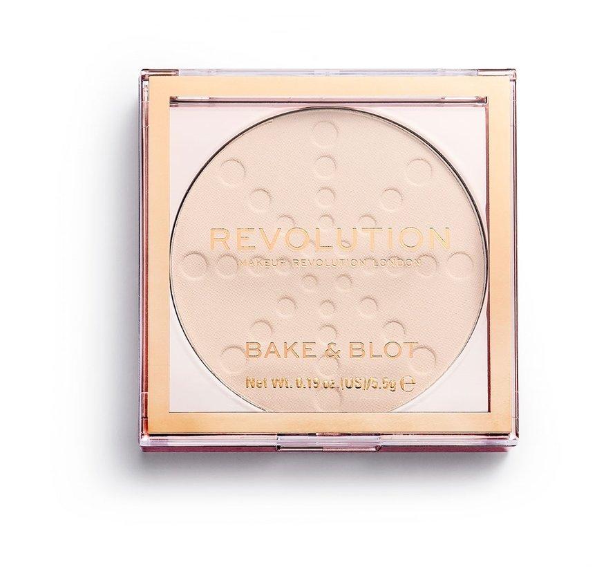 Bake & Blot Powder - Translucent