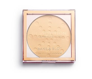 Makeup Revolution Bake & Blot Powder - Banana
