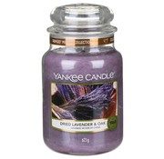 Yankee Candle Dried Lavender & Oak - Large Jar