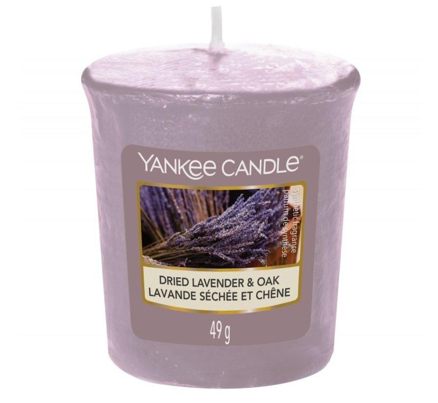 Dried Lavender & Oak - Votive