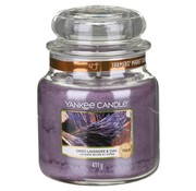 Yankee Candle Dried Lavender & Oak - Medium Jar