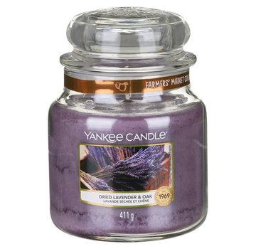 Yankee Candle Dried Lavender & Oak - Medium Jar