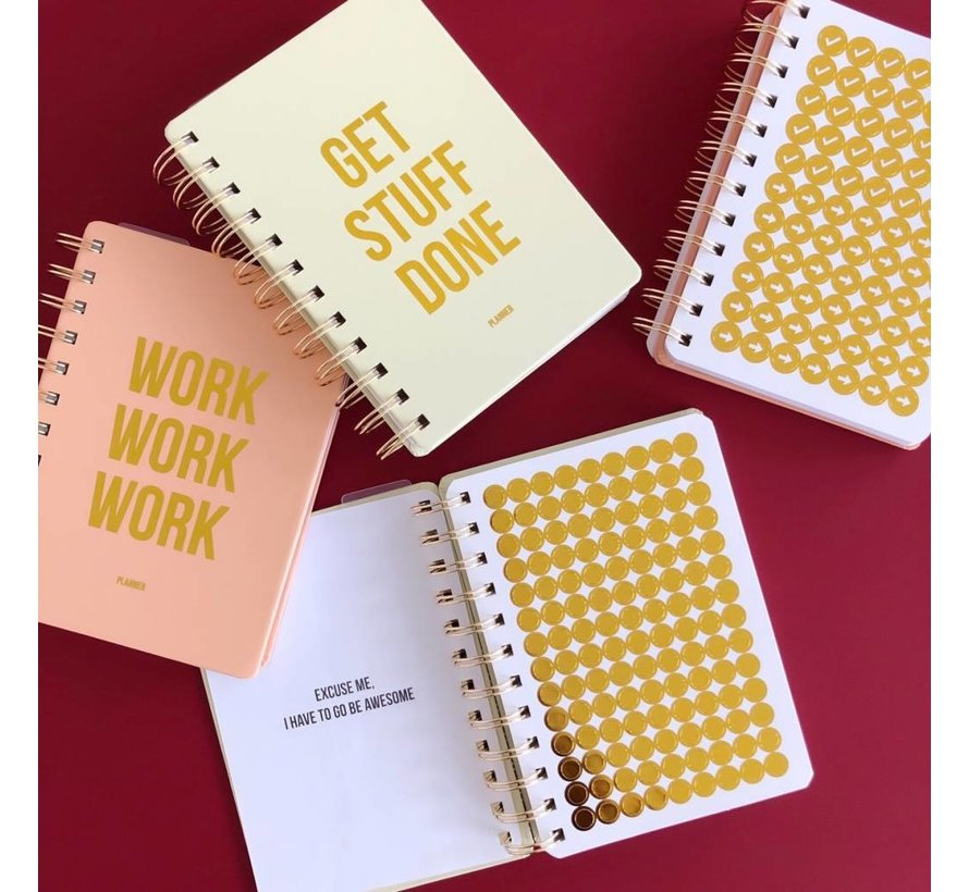 Planner - Get Stuff Done - Off White