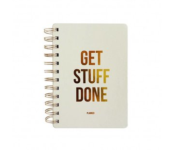 Studio Stationery Planner - Get Stuff Done - Off White