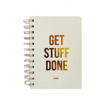 Studio Stationery Planner - Get Stuff Done - Off White
