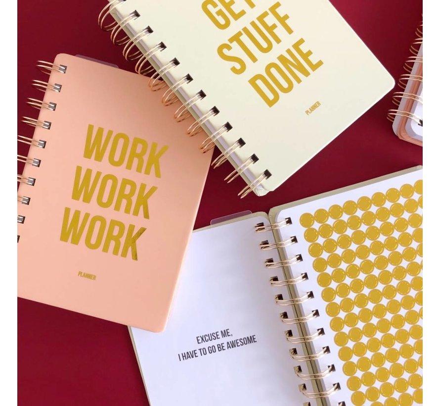 Planner - Work Work Work