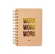 Studio Stationery Planner - Work Work Work - Blush