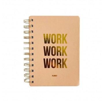 Studio Stationery Planner - Work Work Work - Blush