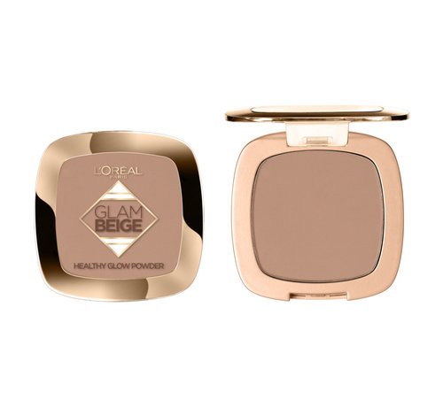 L'Oréal Glam Beige Poeder - Medium Dark