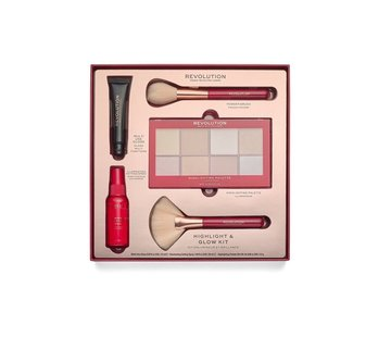 Makeup Revolution Highlight & Glow Kit