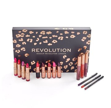 Makeup Revolution Lip Revolution Set - Reds