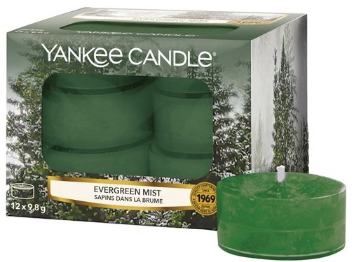 Yankee Candle Evergreen Mist - Tea Lights
