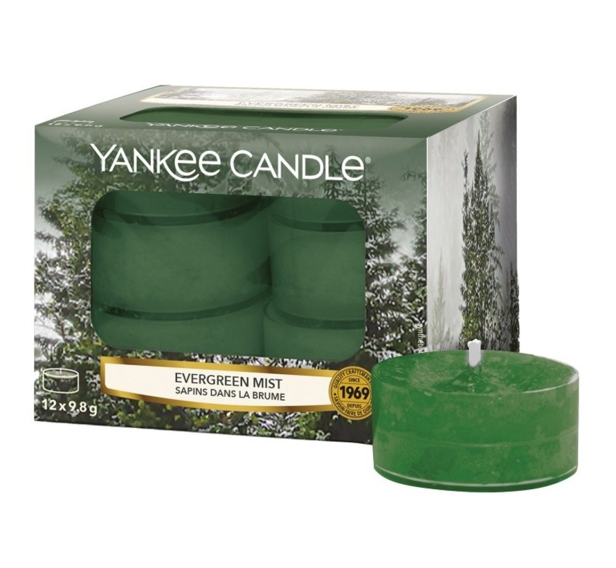 Evergreen Mist - Tea Lights