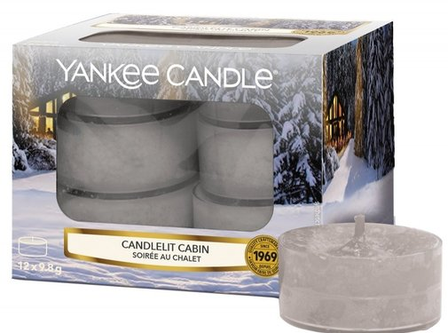 Yankee Candle Candlelit Cabin - Tea Lights