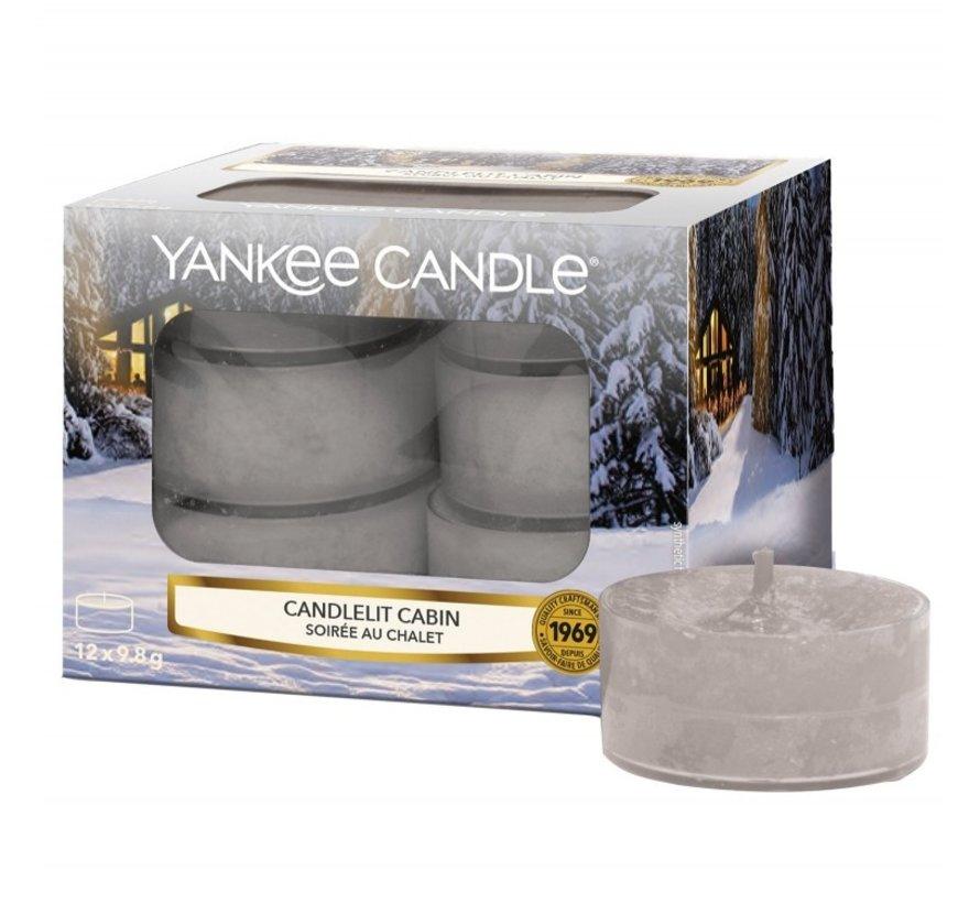 Candlelit Cabin - Tea Lights