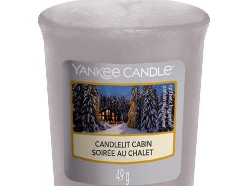 Yankee Candle Candlelit Cabin - Votive