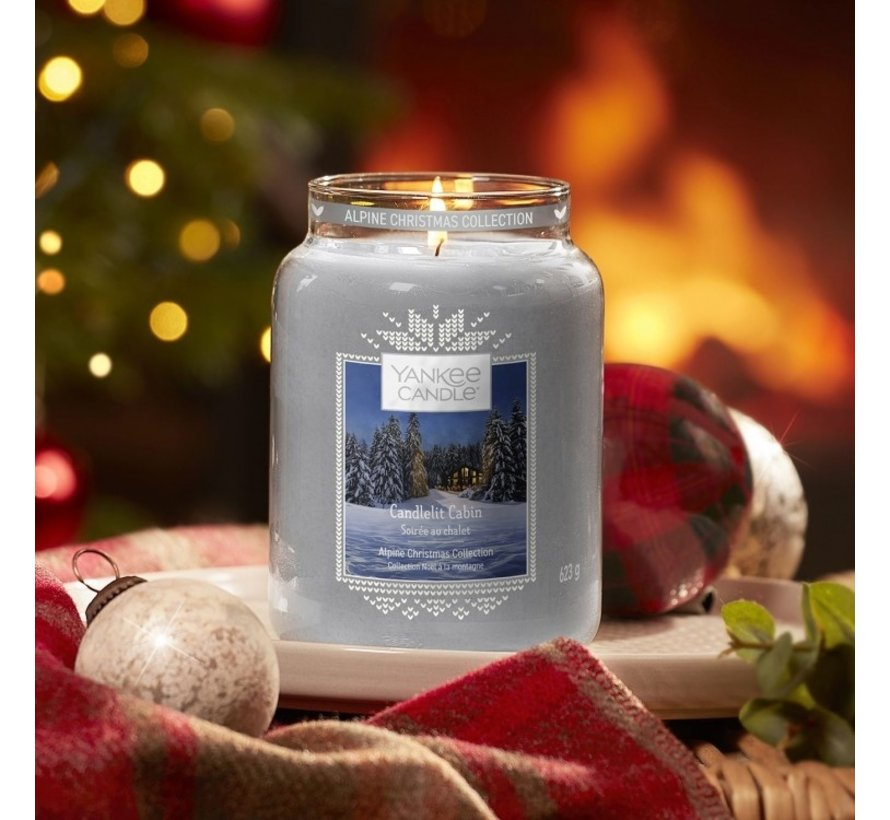 Candlelit Cabin - Large Jar