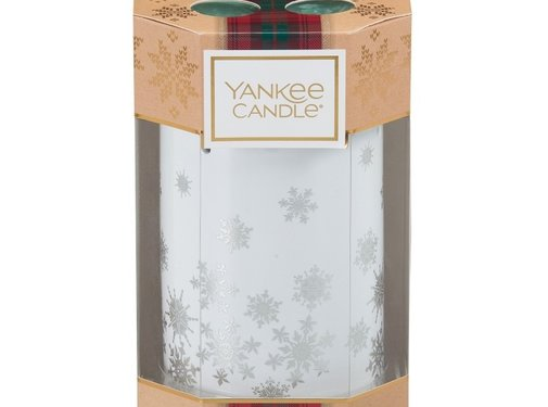Yankee Candle Alpine Christmas 4 Tea Lights & 1 Luminary Gift Set