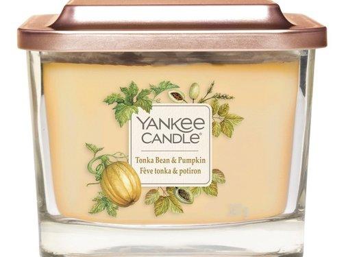 Yankee Candle Tonka Bean & Pumpkin - Medium Vessel