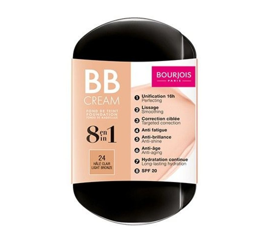8 in 1 BB Cream - 24 Light Bronze - Foundation