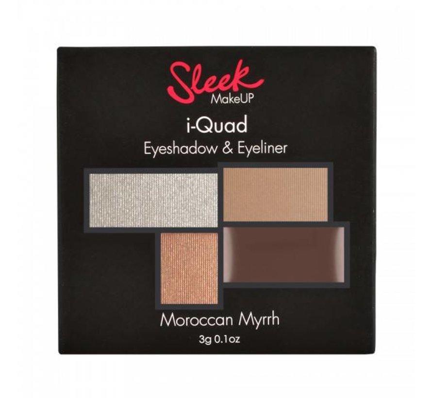 i-Quad Eyeshadow & Eyeliner - Moroccan Myrrh - Palette