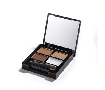 Makeup Revolution Focus & Fix Brow Kit - Medium Dark