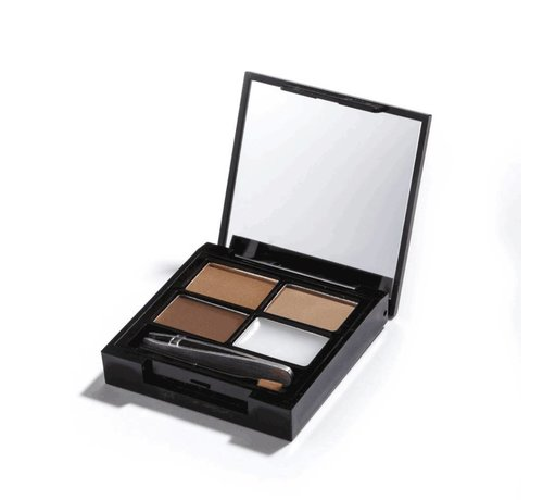Makeup Revolution Focus & Fix Brow Kit - Medium Dark - Wenkbrauwkit