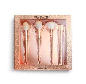 Makeup Revolution Precious Stone Brush Set Rose Quartz
