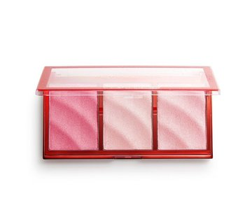 Makeup Revolution Precious Stone Highlighter Palette - Ruby Crush