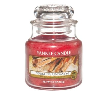 Yankee Candle Sparkling Cinnamon - Small Jar