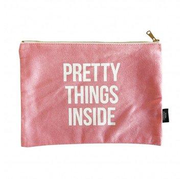 Studio Stationery Canvas Bag - Pretty Things XL