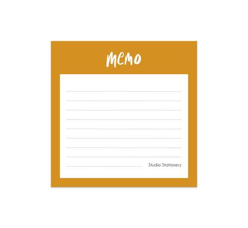 Studio Stationery Noteblock Mini Memo