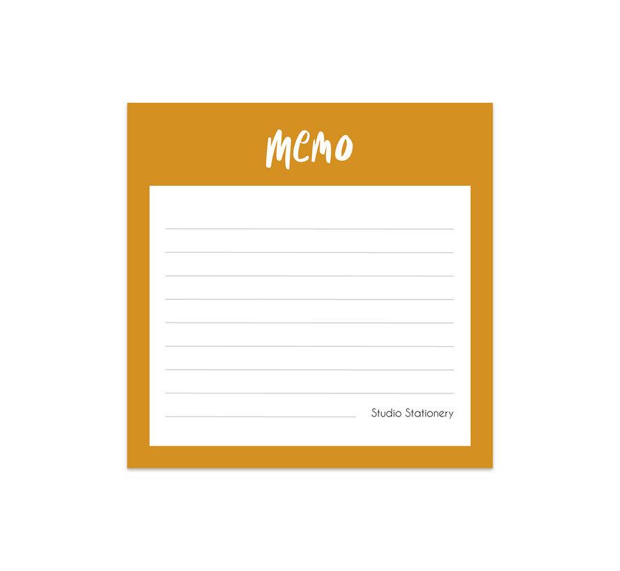 Noteblock Mini Memo