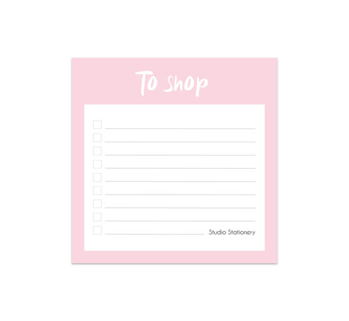 Studio Stationery Noteblock Mini To Shop