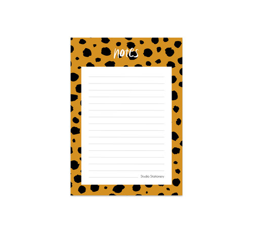Studio Stationery Noteblock Notes