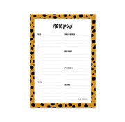 Studio Stationery Notepad Cheeta