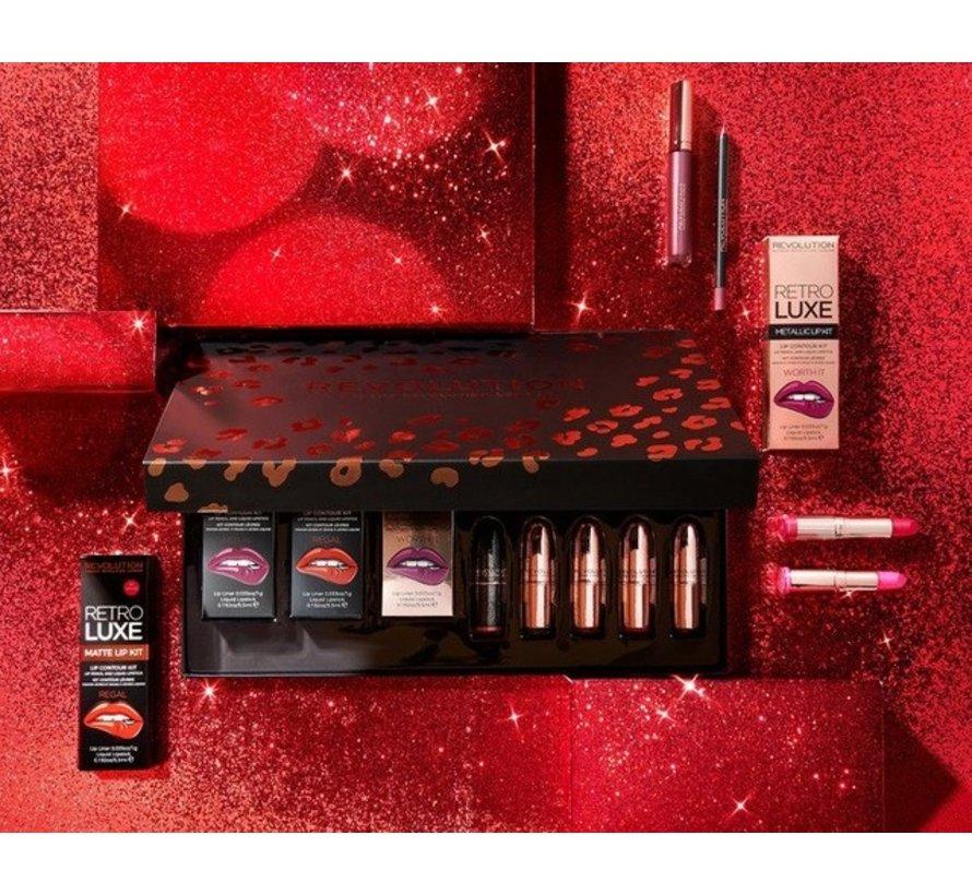 Lip Revolution Set - Reds