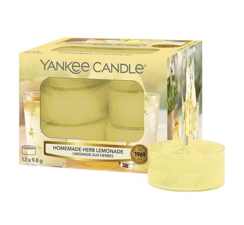 Yankee Candle Homemade Herb Lemonade - Tea Lights