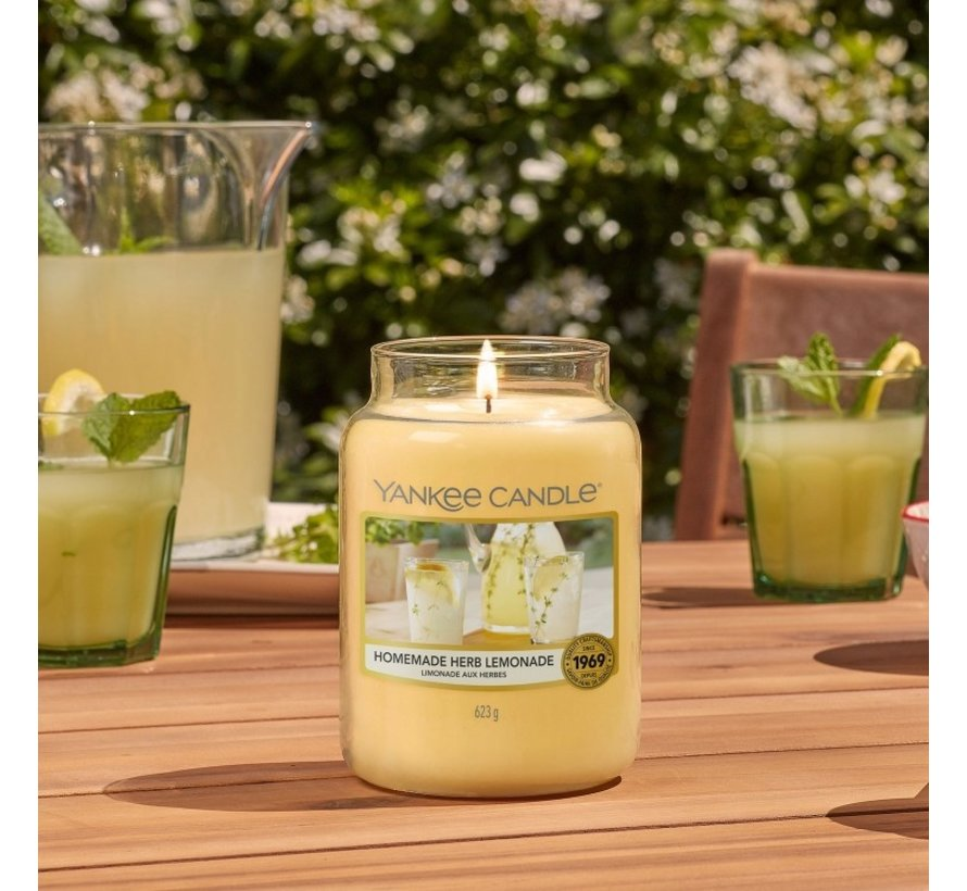 Homemade Herb Lemonade - Large Jar