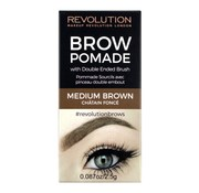 Makeup Revolution Brow Pomade - Medium Brown