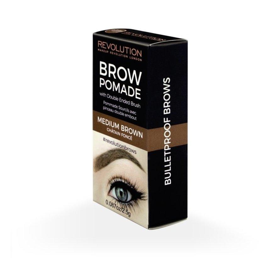 Brow Pomade - Medium Brown