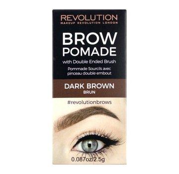 Makeup Revolution Brow Pomade - Dark Brown
