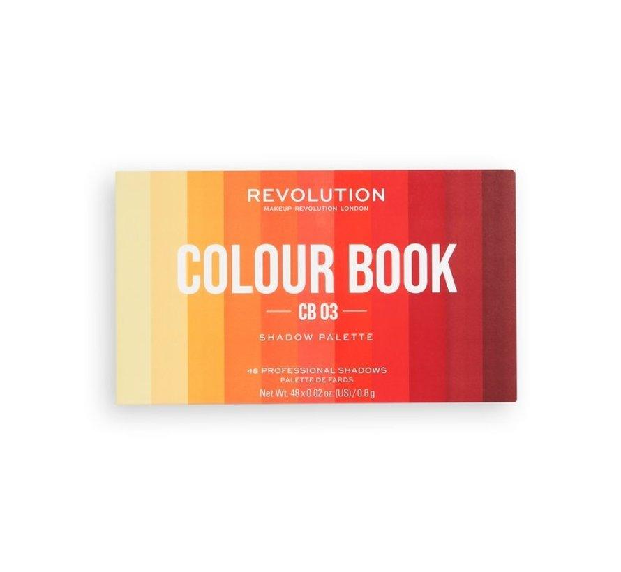 Colour Book Shadow Palette - CB03
