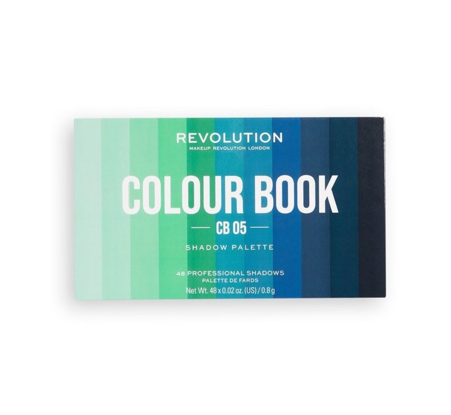 Colour Book Shadow Palette - CB05