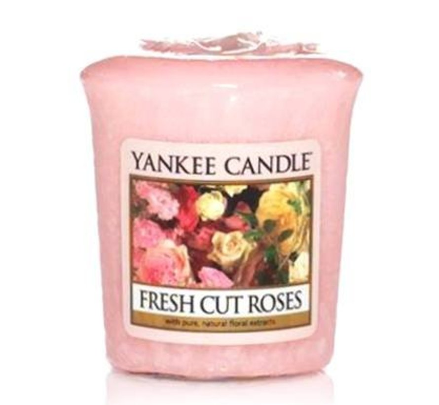 Fresh Cut Roses - Votive
