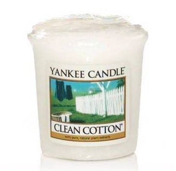 Yankee Candle Clean Cotton - Votive