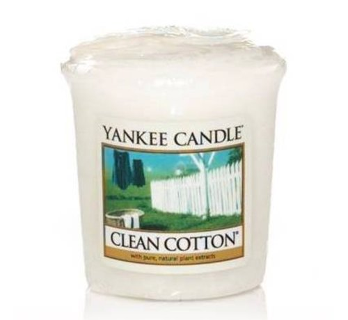 Yankee Candle Clean Cotton - Votive